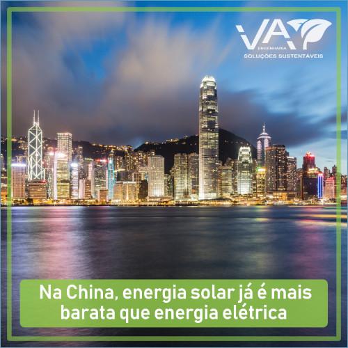 A Energia Solar na China