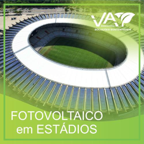 Fotovoltaico em Estádios